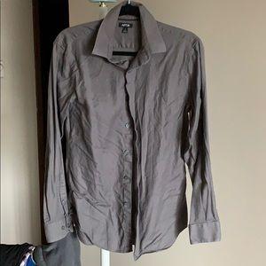 A dark gray Apt. 9 dress shirt